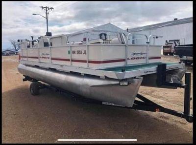 2005 FORESTER LOGIC FISH Pontoon Boats Ortonville, MN