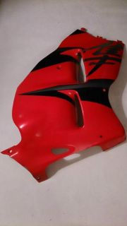 Sell Suzuki GSXR1300 Hayabusa Right Side Fairing Plastic Cover #94471-24F0 - Red motorcycle in Richlandtown, Pennsylvania, US, for US $149.99