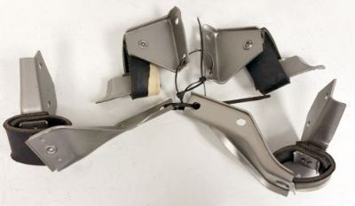 Sell 1965/66 Chevrolet Big Passenger Exhaust Hangers L/R Intermediate/Rear USED motorcycle in Wadsworth, Illinois, United States, for US $175.00