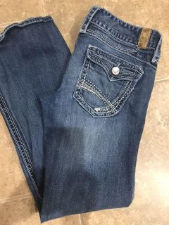 Maurice s jeans size 9/10
