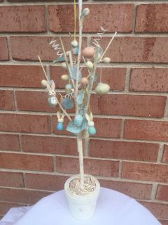 Easter Egg and Bunny Tree