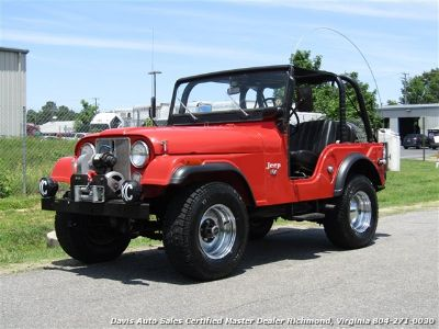1973 Jeep CJ5 2 Door 4X4 304 V8 Unrestored 3 (Red)