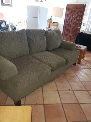 Olive couch