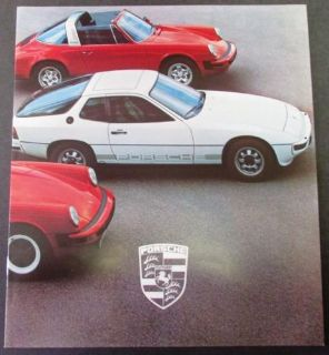 Find 1979 Porsche Dealer Sales Brochure Original 928 924 911 SC Turbo motorcycle in Holts Summit, Missouri, United States, for US $19.79