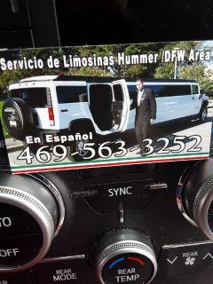 Limosinas en fortworth tx 972 877 7006 dfw area metroplex