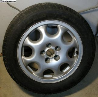 BBS bottlecap wheel w/ tire