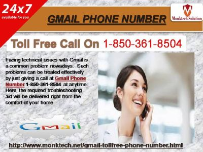 Call On Gmail Phone Number To Recover Your Gmail Password 1-850-361-8504.