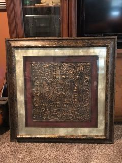 Beautiful framed piece