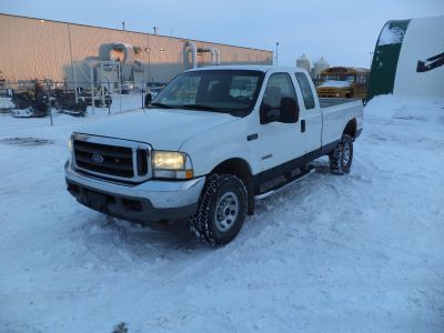 Saftied 2003 Ford F350 Extended Cab long box 4x4 6.0 Powerstroke Diesel Would consider sled in trade?