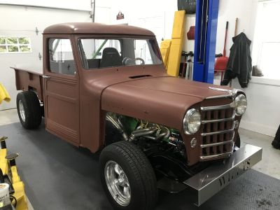 Willys Pickup modified