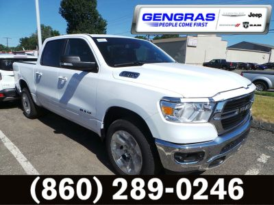 2019 RAM 1500 BIG HORN / LONE STAR CREW CAB (Bright White Clearcoat)