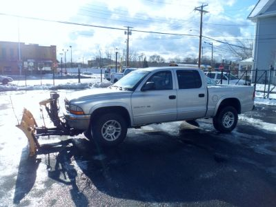 2002 Dodge Dakota SLT (Bright Silver Metallic)