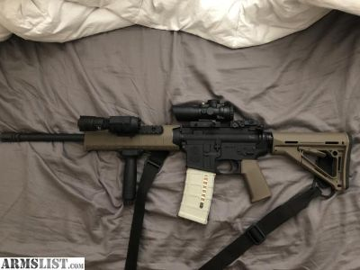 For Sale: M&P AR 15 For sale with Mods