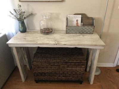 Table console sofa entry