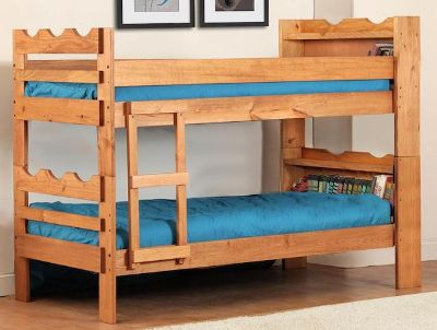 $425, New bunk bed with mattresses $425