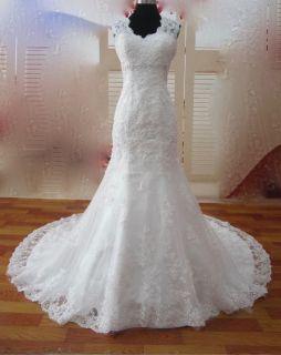 Rose's Mermaid Lace Empire Waist Wedding Dress