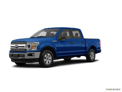 2018 Ford F-150 F150 4X4 SUPERCREW (Lightning Blue)