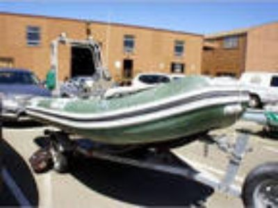 14' Caribe Inflatable Pontoon 2003
