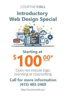 $100 Introductory Website Design