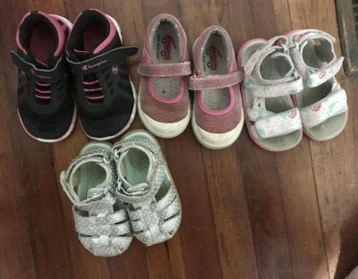 Toddler Girl Size 7 Shoes