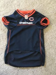 Pets First Chicago Bears dog jersey size large