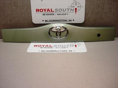 Find Toyota Prius Silver Pine Mica Lift Gate Garnish Handle Trim Genuine OEM OE motorcycle in Bloomington, Indiana, US, for US $165.00