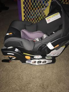 Infant car seat with base (Chicco)