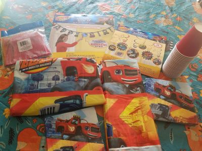 Blaze and the monster machines birthday supplies
