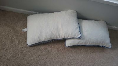2 never slept on bamboo pillows