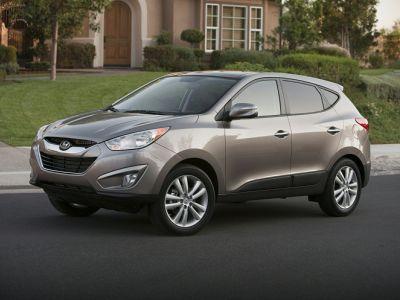 2012 Hyundai Tucson GLS (Cotton White)