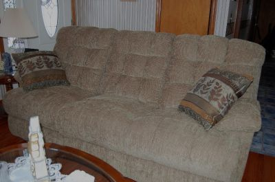 England Brand Recliner Couch