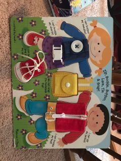 Melissa and Doug learning board