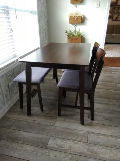 Brand New Table + Chairs & Bench