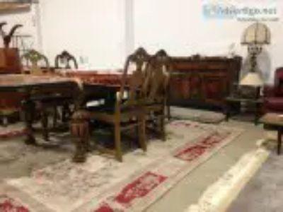 Large Dining Room Suite - Antique