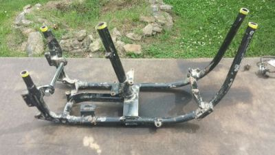 Purchase Harley Davidson shovelhead frame - engine transmission mount section motorcycle in West Plains, Missouri, United States, for US $200.00