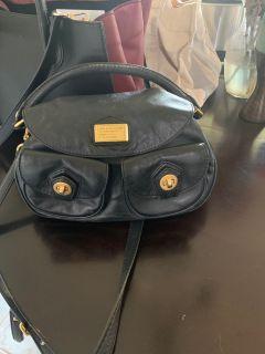 Marc Jacobs Cross Shoulder Genuine Leather Handbag