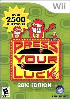 Wii Press Your Luck