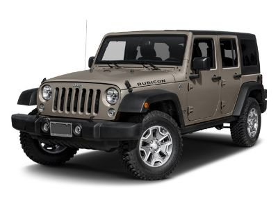 2017 Jeep Wrangler Unlimited Rubicon (Bright White Clearcoat)