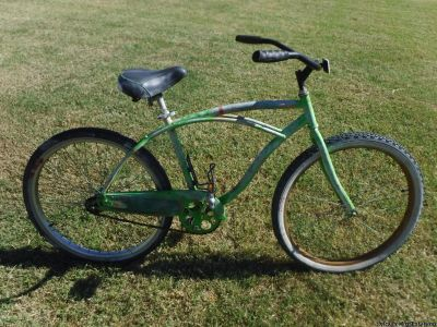 "Christopher Metcalfe Creations Huffy 26"" Pulledfromtheditch Mens Cruiser Bike with Perfect Fit Frame"