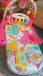 Fisher-Price Deluxe Kick & play piano gym playmat