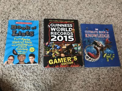 Guinness book gamers, ultimate book of knowledge