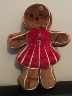NEW Gingerbread Plush