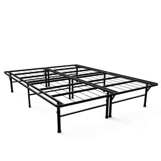 Mattress Foundation / Platform Bed Frame / Box Spring Replacement, Queen