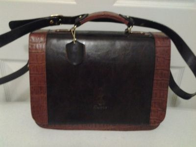 Brown Leather Briefcase Style