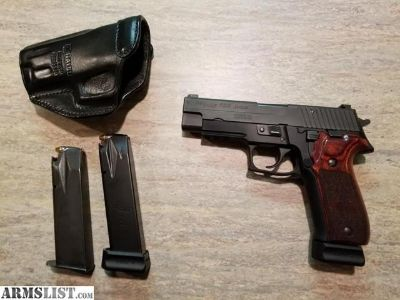 For Sale/Trade: Sig Sauer P226 Nitron .357 Sig optimized for carry