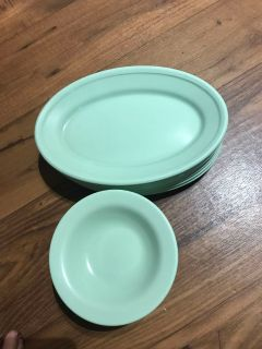 Plastic plates. $12 all Firm