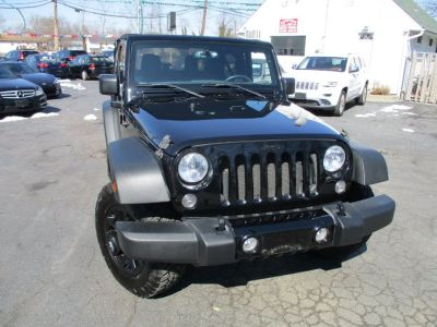 2015 Jeep Wrangler 4WD 2dr Willys Wheeler (Black Clearcoat)