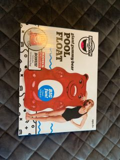 New 5 foot giant gummy bear pool float