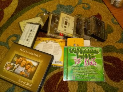 Free casettes and CDs