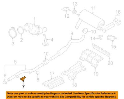 Find BMW OEM 14-16 328i GT xDrive 2.0L-L4-Front Pipe Insulator 18307633093 motorcycle in Shrewsbury, Massachusetts, United States, for US $22.32